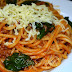 Spaghetti with Spinach
