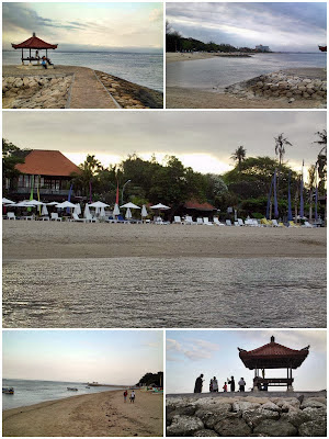 View of Sanur Beach