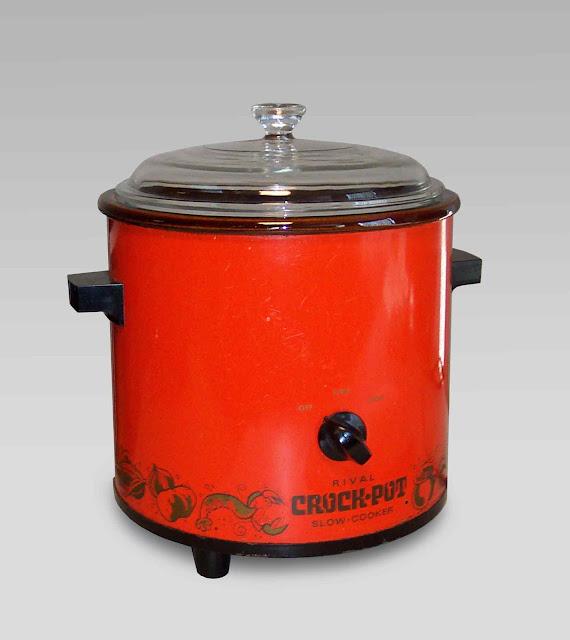 1970's original vintage crock-pot nostalgia