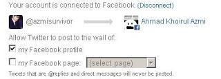 "B. Jika akun sudah benar, klik ""Connect to Facebook"""