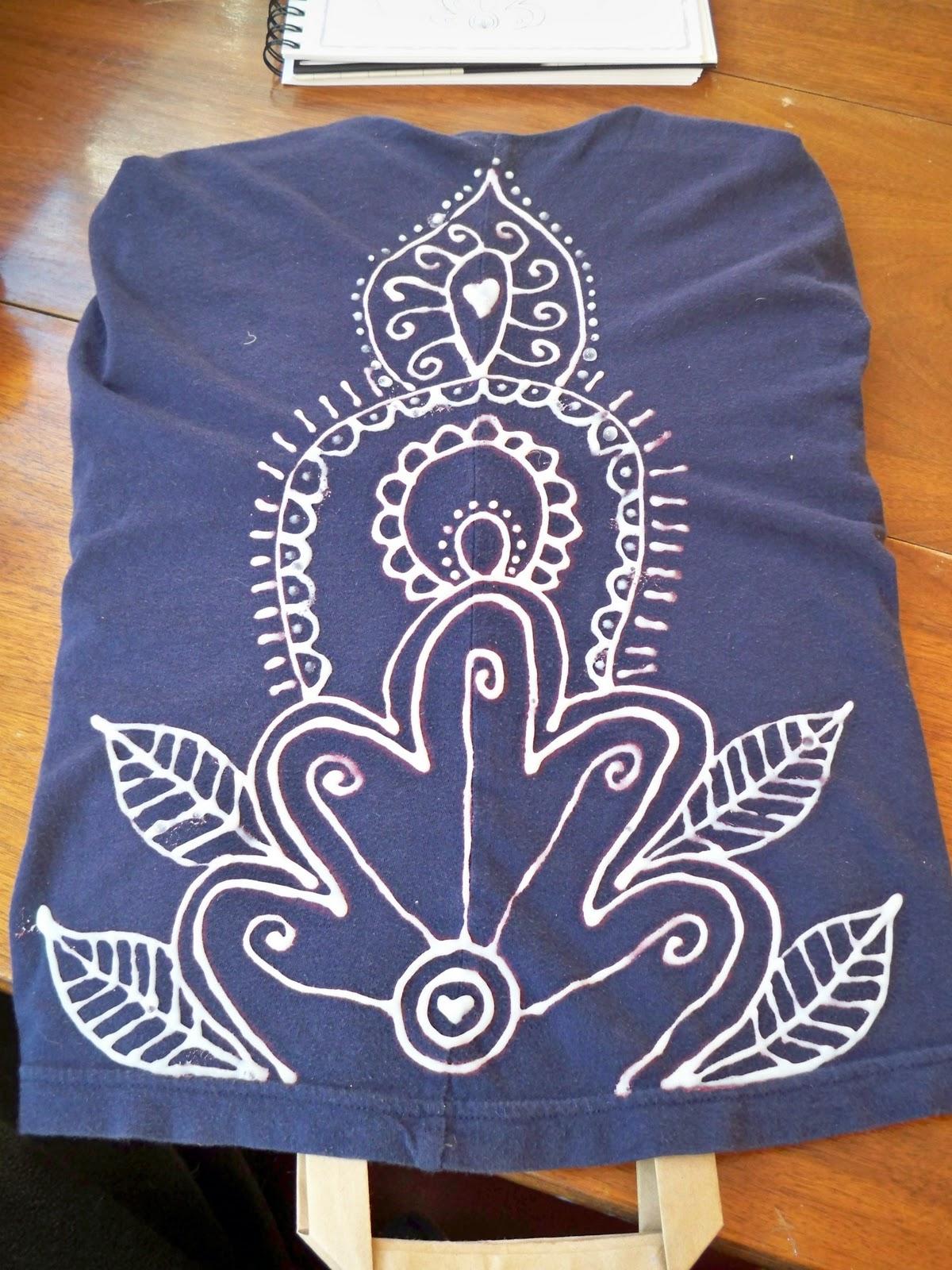 Shirt design using bleach - Bleach Ness