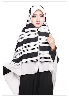 Permalink to Contoh Model Hijab Modern Terbaru Style 2016