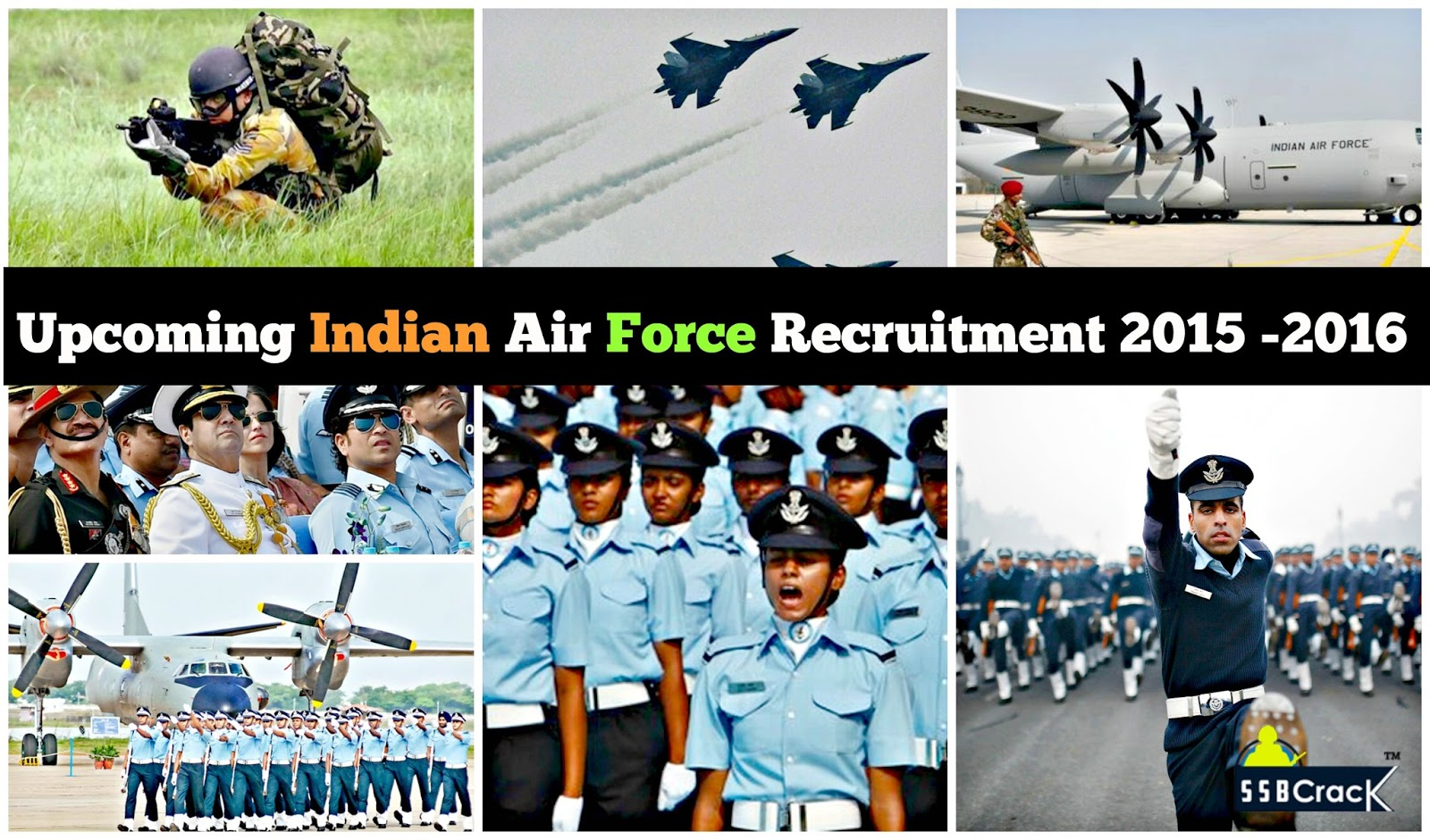 Upcoming Indian Air Force Recruitment 2016