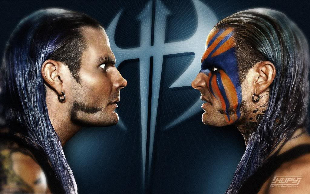 Jeff Hardy Duo Face Wallpaper