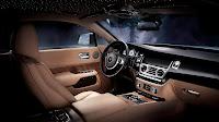Rolls-Royce Wraith dash