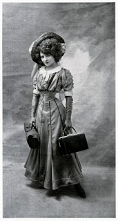 French singer and actress Émilie Marie Bouchaud (Polaire), ca.1907