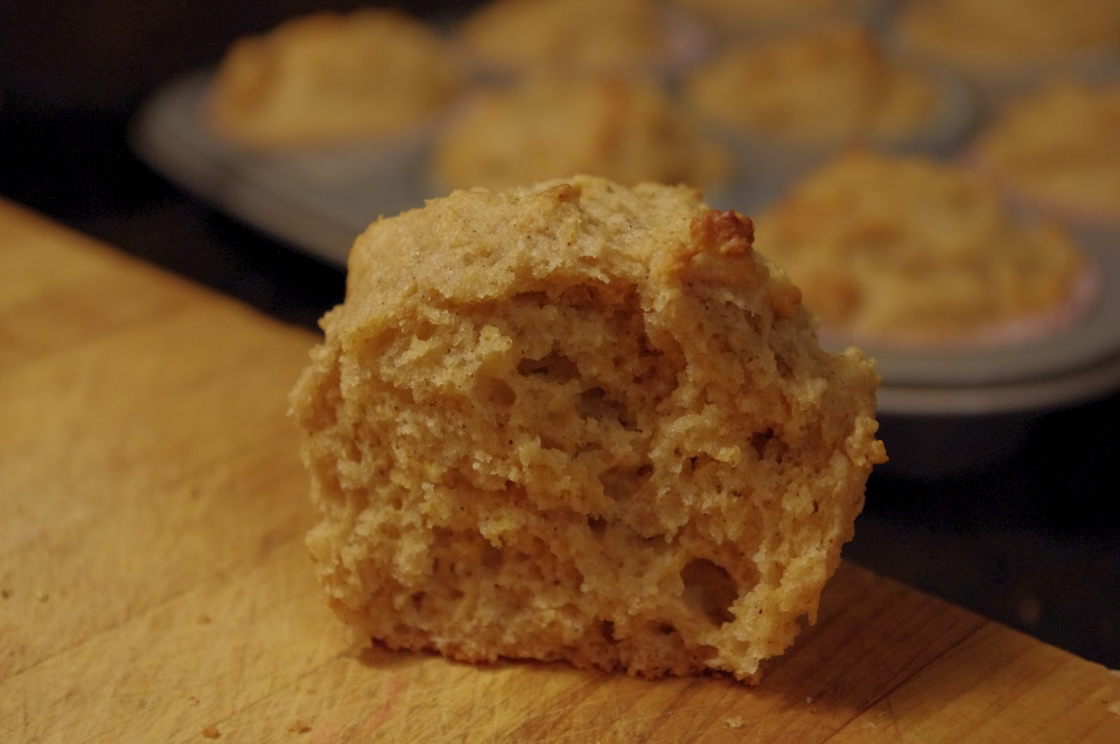 goodness bake!: Quick, Easy and Moist Whole Wheat Muffins