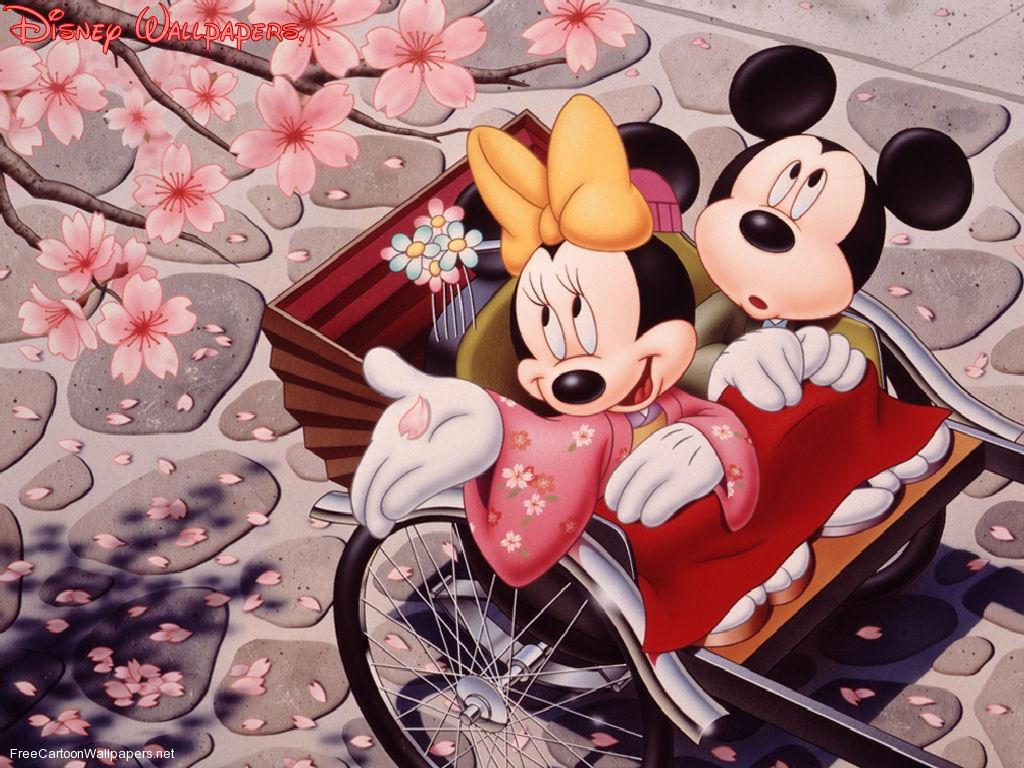 Cool images mickey and minnie mouse wallpapers - Minni et mickey ...