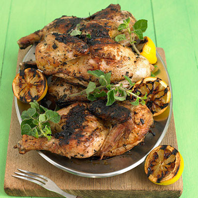 Grilled Lemon-Oregano Chicken Drumsticks Recipes — Dishmaps
