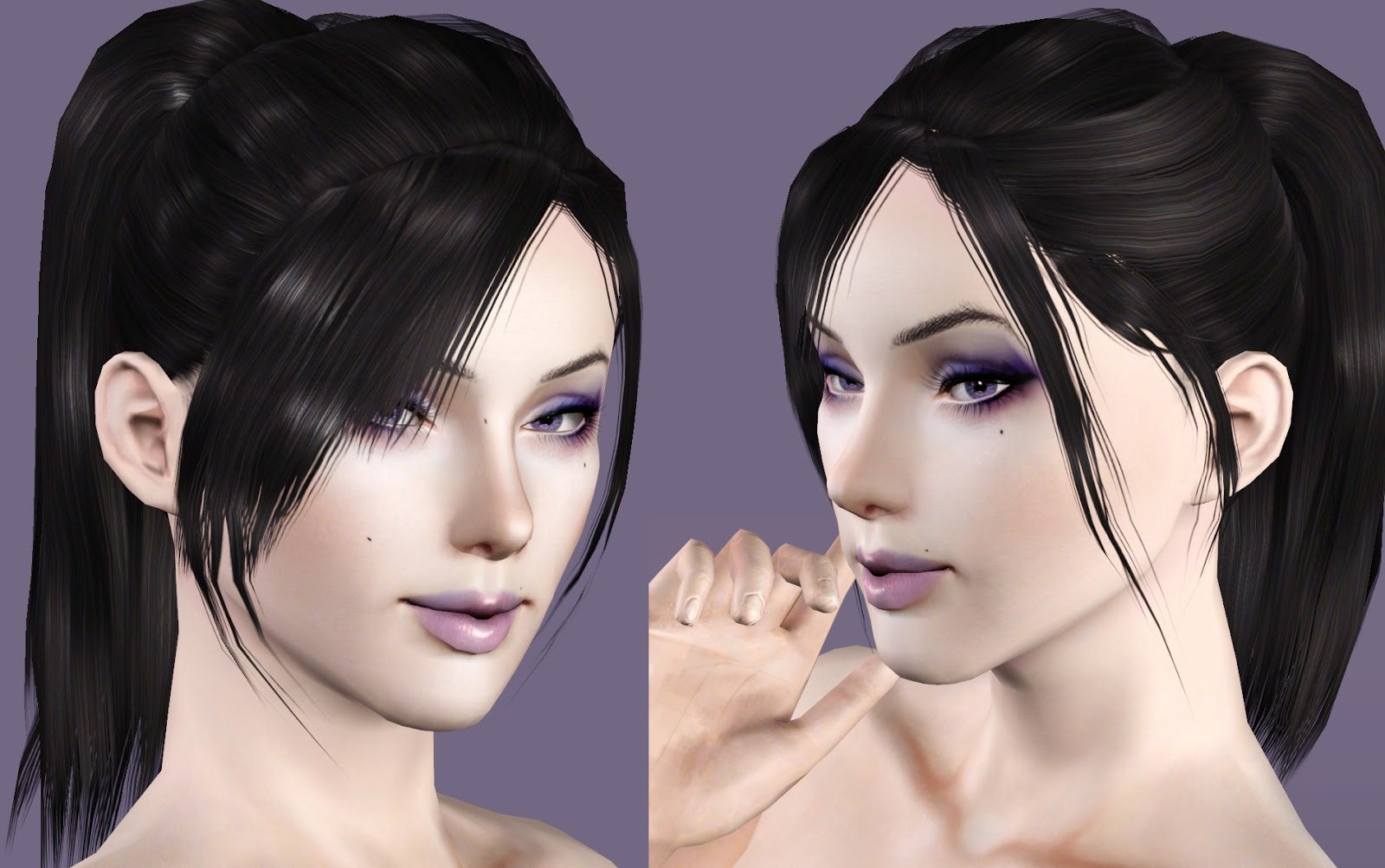 sims 3 how to change hair