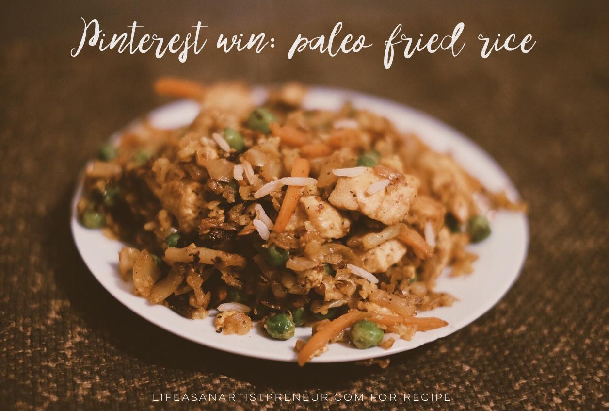 cauliflower rice how to