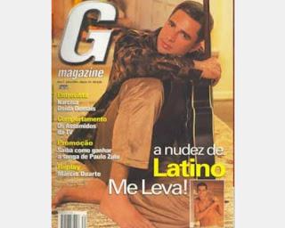 """Latino ficou um ano negociando com a G Magazine para aceitar posar nu e mostrar seu """"bundalelê""""."""