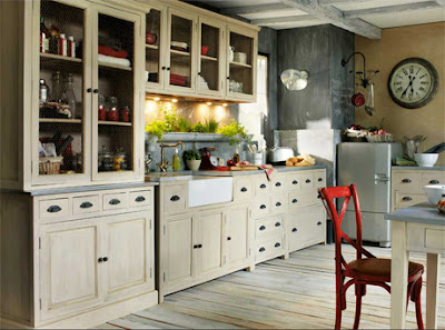 Within virtually no style kitchens that fit perfectly within this area Tips to create a kitchen with vintage flair