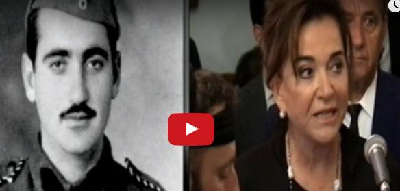 Το τελευταίο αντίο της Ντόρας Μπακογιάννη: «Σήκω απάνω ψηλέ μου πατέρα...» (βίντεο)