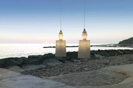 luces para espacios de exterior