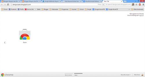 Software Browser Gratis dan Terbaik Untuk Komputer - Chrome