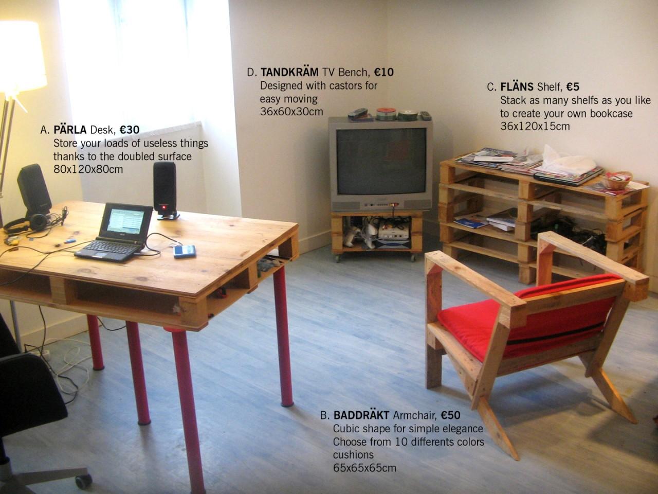 Mueblesdepalets Net # Muebles Tipo Ikea