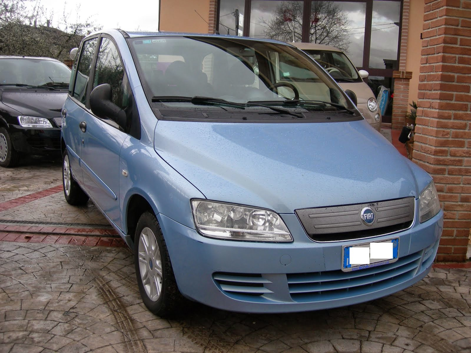 Fiat Multipla Natural Power 1.6 Metano Anno 2006 dinamyc