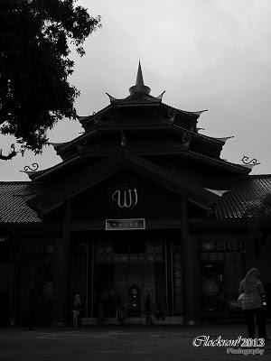 Masjid Cheng Ho Nuansa BW