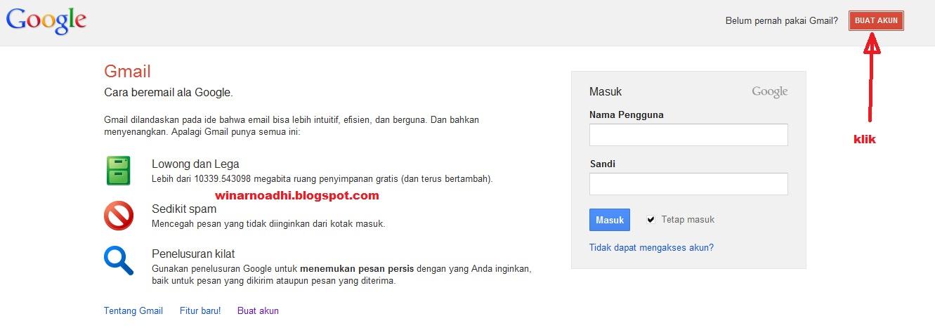 Cara Membuat Email Baru Di Google Cara Membuat