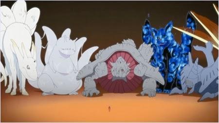 ยูกิโตะกับร่างสถิตและสัตว์หาง