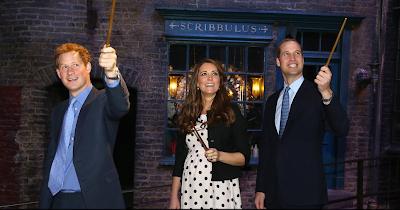 Divulgadas fotos do Trio Real e J.K. Rowling na inauguração do Warner Bros. Studio Tour | Ordem da Fênix Brasileira