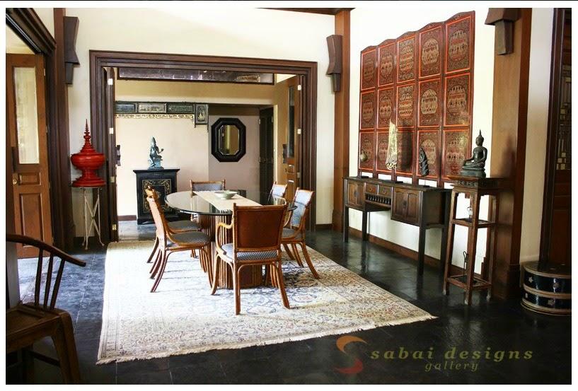 The east coast desi my tryst with burmese decor - Asian inspired home decor ...