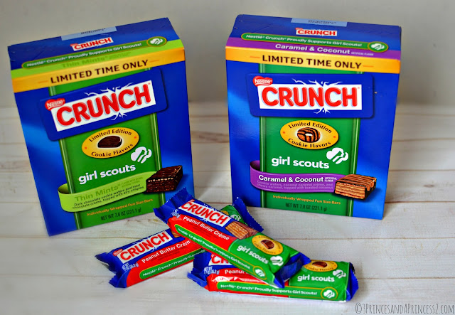 Nestle Limited Time #GSCrunch Bars #Shop