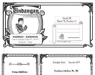 Free Download File Template Undangan Slametan Walimahan Khitanan ...