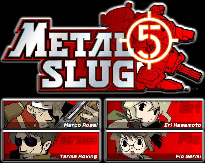 jugar a metal slug 5: