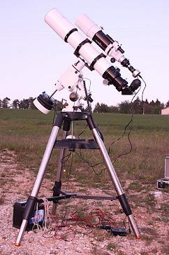 TELESCOPIO  AP 115 F 6,95