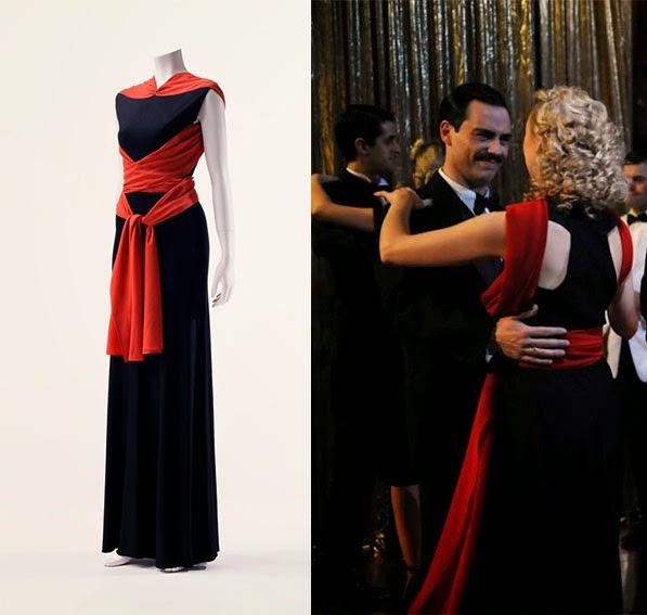 Rosalinda Fox vestido Vionnet. El tiempo entre costuras. Capítulo 10