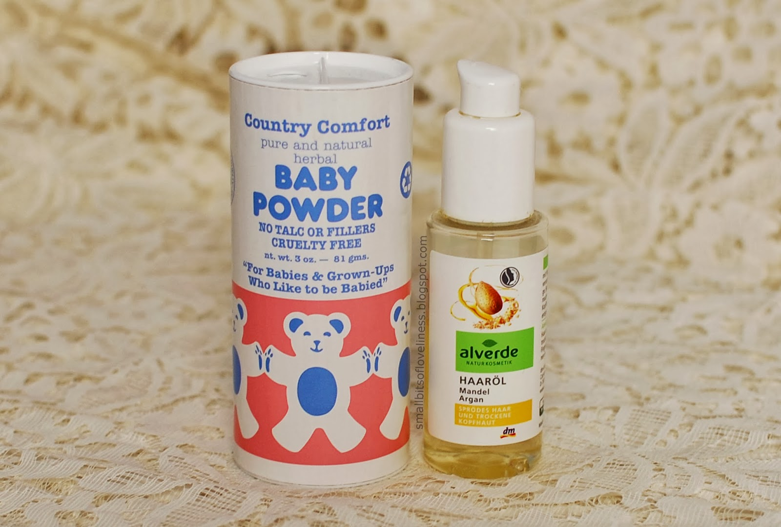 Alverde Haarol, Country Comfort Baby Powder