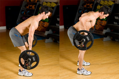 STICK WITH HEAVY COMPOUNDSOverhand Barbell Row