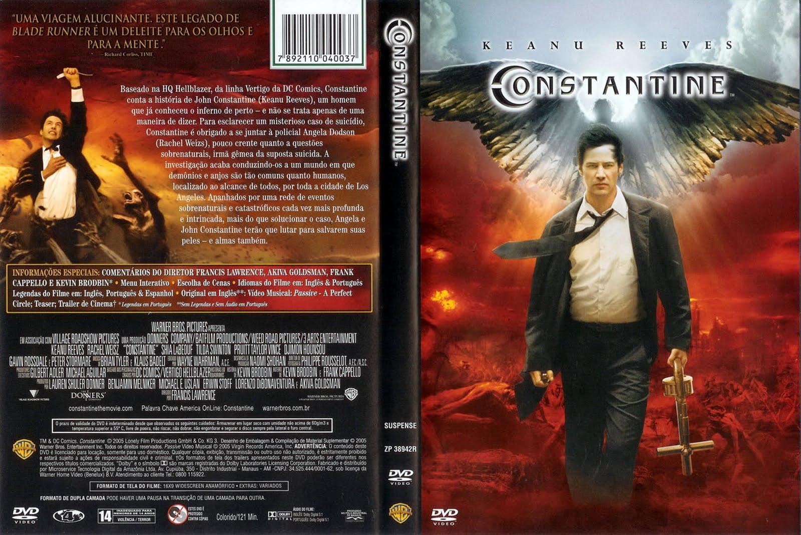 Constantine DVD Capa