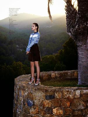 Barbara Palvin – L'Officiel Paris Magazine January 2015