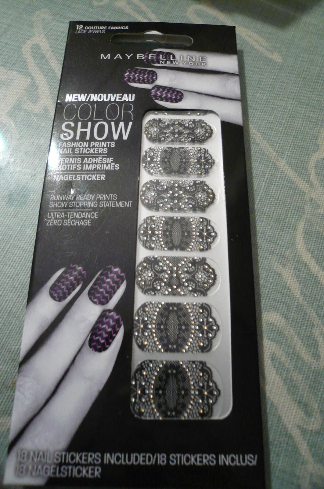 Madame Macabre: Reseña maquillaje: pegatinas para las uñas de ...