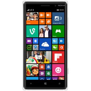 Nokia Lumia 830 (front)
