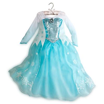 Dress baju pesta anak perempuan princess elsa Frozen