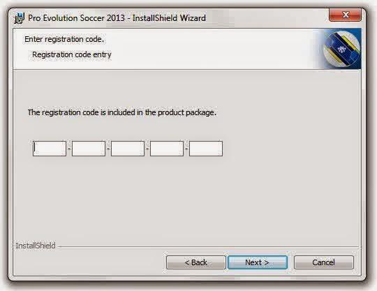Code PES 2013 Serial Number