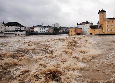 Intensas lluvias causan inundaciones en Austria, 02 de Junio 2013