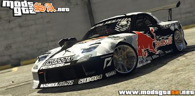 V - MadMike RX-7 para GTA V PC