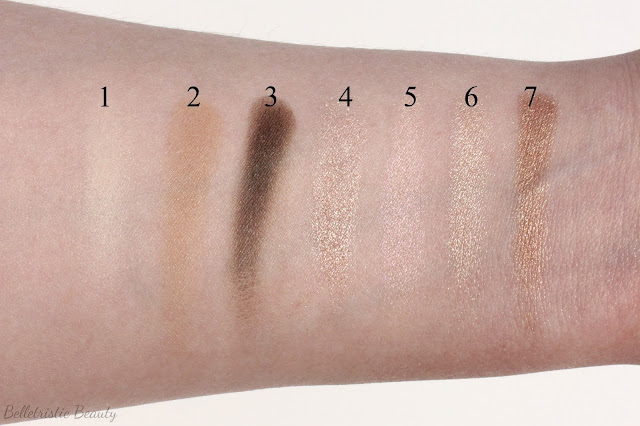 Marc Jacobs The Lolita 206 Style Eye-Con No.7 Swatches in outdoor lighting