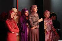 Gaya Hijab Muslimah Chechnya