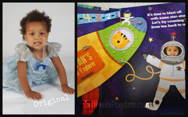 1-2-3- Blast Off Personalized I See Me Book