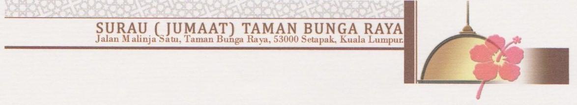 Surau Bunga Raya (SUBUR)