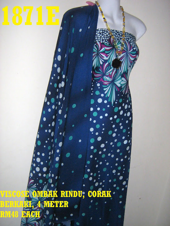 BV 1871E: BATIK VISCOSE EXCLUSIVE OMBAK RINDU, 4 METER