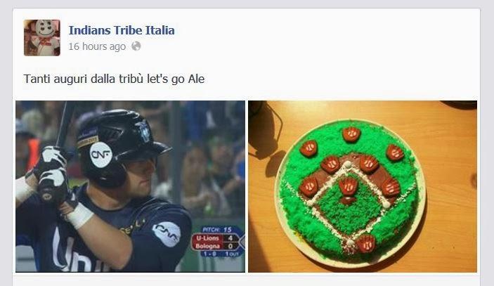 sulla pagina FB di Indians Tribe Italia