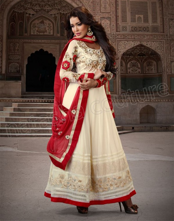 Natasha Couture Anarkali Frocks Collection 2013