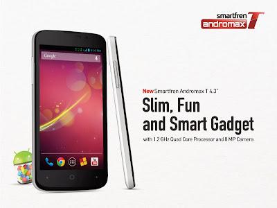 gambar Andromax T - Hp Android Quadcore termurah